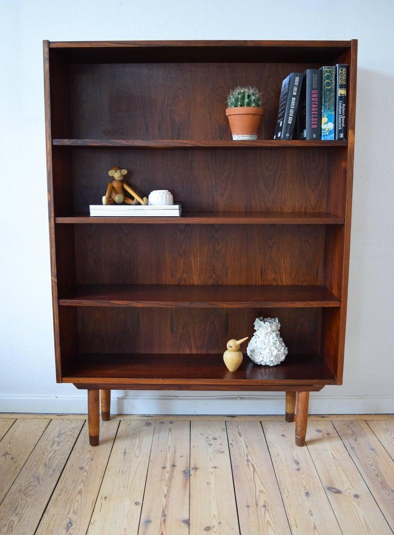 Mid Century Modern Danish Rosewood Bookshelf Viby Mbelfabrik 1960s