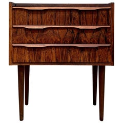Midcentury Danish Rosewood Chest of Drawers, 1960s