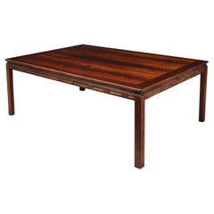 Midcentury Danish Rosewood Coffee Table, circa 1960