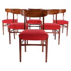 Midcentury Danish Rosewood Dining Chairs, 1960