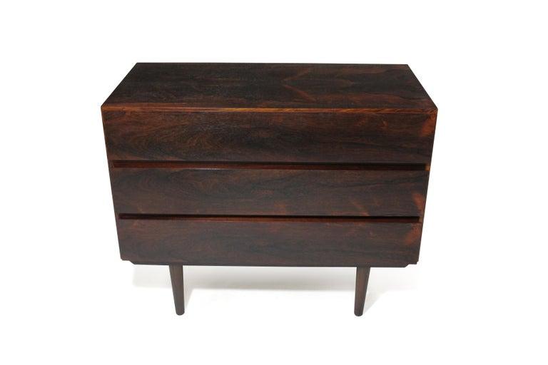 20th Century Midcentury Danish Rosewood Dresser For Sale