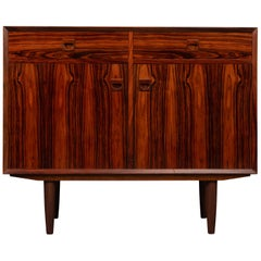 Midcentury Danish Rosewood Sideboard by E. Brouer for Brouer Møbelfabrik, 1960s