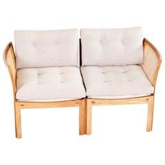 Midcentury Danish Rosewood Sofa Plexus Model by Illum Wikkelso to CFC Silkeborg