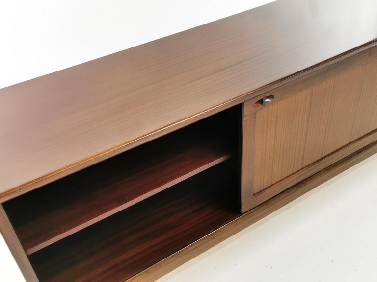 Mahogany Midcentury Danish Sideboard by Henry W Klein for Bramin, 1960s