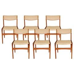 Midcentury Danish Teak Dining Chairs