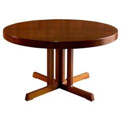 Midcentury Danish Teak Extending Dining Table By Niels Otto Møller Model 15