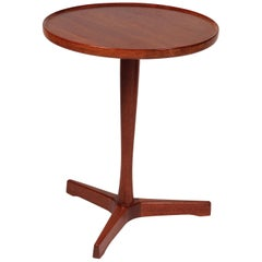 Midcentury Danish Teak Side Table Designed by Hans C Andersen