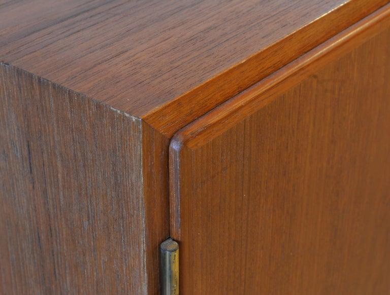 Midcentury Danish Teak Sideboard or Credenza by Carlo Jensen for Poul Hundevad For Sale 1