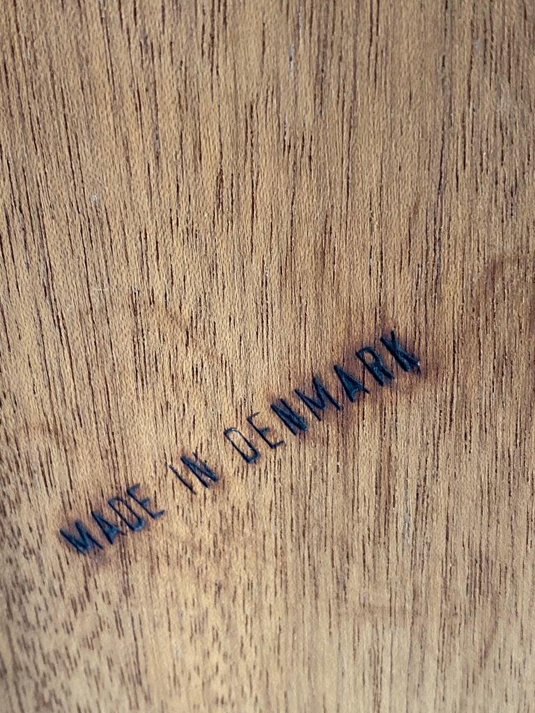 Midcentury Danish Teak Writing Bureau & Moller Style Chair, Denmark, circa 1970 For Sale 7