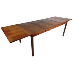 Midcentury Danish Vejle Stole & Møbelfabrik Drop Leaf Dining Table