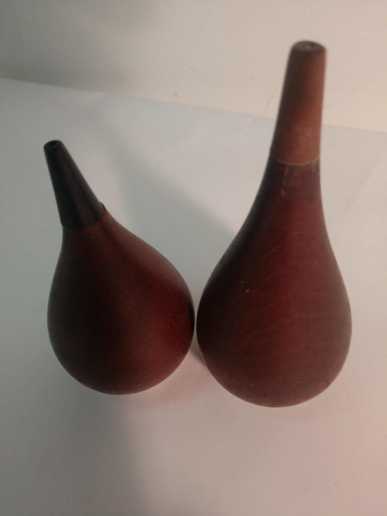 Midcentury Dansk Items Whale Bottle Opener, Salt and Pepper, Cake Server In Good Condition For Sale In Port Jervis, NY