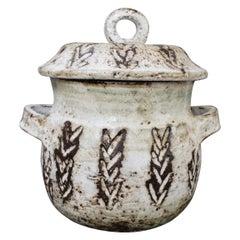 Mid-Century Decorative Crockery Pot by Albert Thiry, circa 1960s