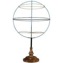 Mid-Century Decorative Globe Model from Germany from the 1950s