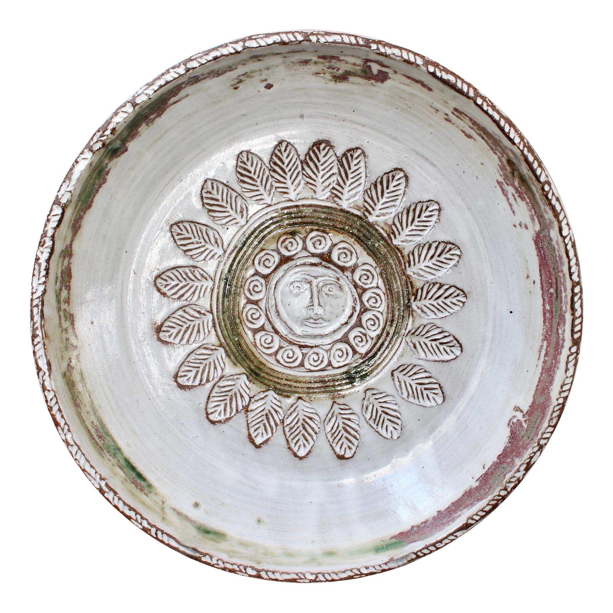 Mid-Century Decorative Platter by Albert Thiry 'circa 1960s'