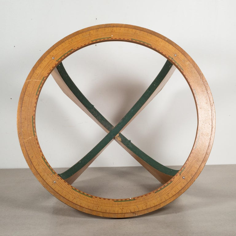 Mid-Century Denoyer-Geppert Globe on Wooden Stand by C.1960 In Good Condition For Sale In San Francisco, CA