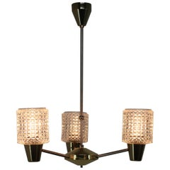 Midcentury Design Chandelier from Kamenicky Senov, 1970s