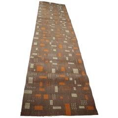 Midcentury Design Geometric Carpet / Rug, 1960s