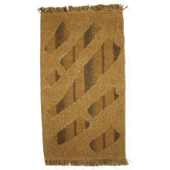 Midcentury Design Handmade Tapestry, 1960s
