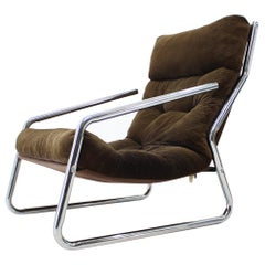 Midcentury Design Lounge Armchair, 1970s