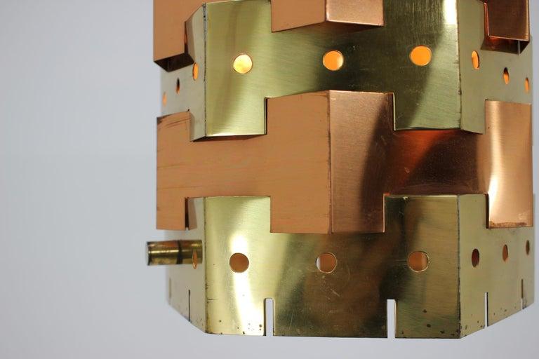 Late 20th Century Midcentury Design Pendant, Denmark, 1970s For Sale