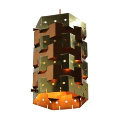 Midcentury Design Pendant, Denmark, 1970s