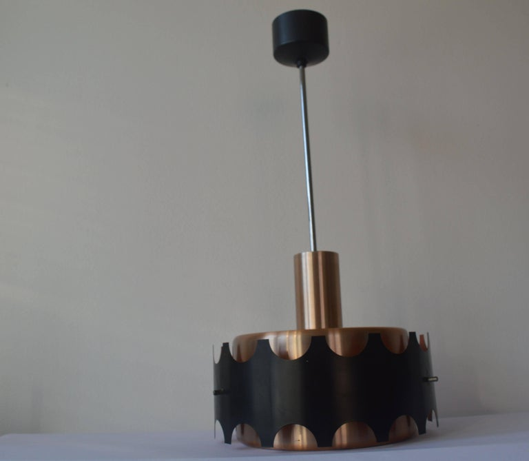 Mid-Century Modern Midcentury Design Pendant Light from Denmark, 1970s For Sale