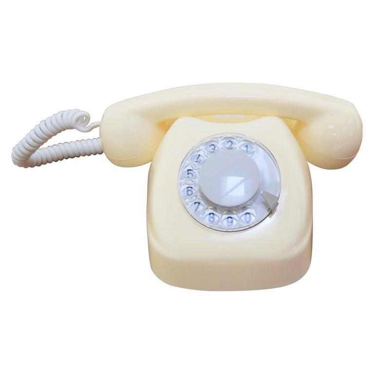 Mid-Century Design Telephone by Tesla, 1979 For Sale