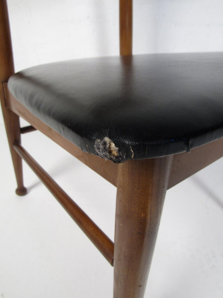 Midcentury Desk and Chair by Hooker Furniture For Sale 12