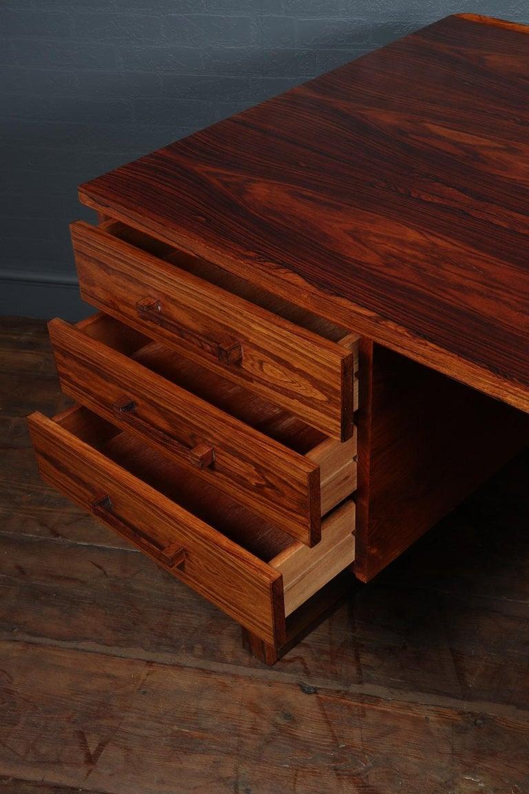 Midcentury Desk by Henning Jensen For Sale 4