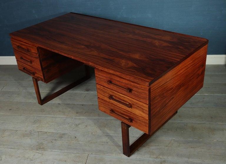 Midcentury Desk by Henning Jensen For Sale 1