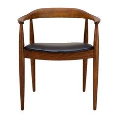 Mid-Century Desk Chair by Illum Wikkelsø, Denmark, 1950s