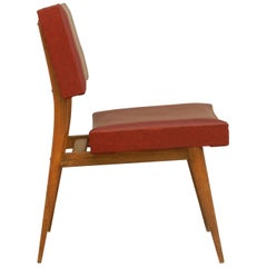 Mid century Desk Chair Teak Includes Recovering