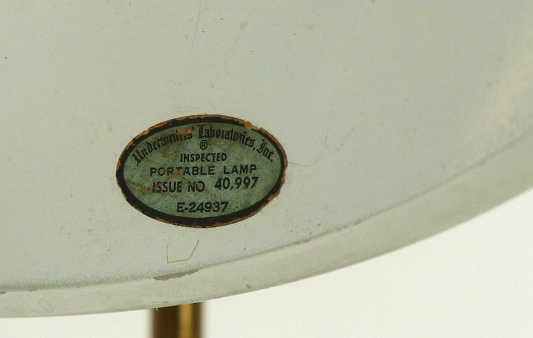 Mid Century Desk Lamp by Thurston for Lightolier For Sale 3