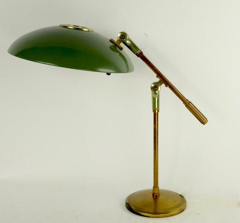 Mid Century Desk Lamp by Thurston for Lightolier For Sale 4