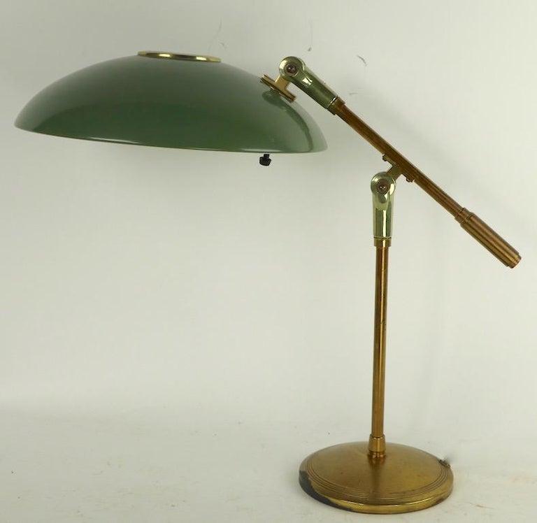 Mid Century Desk Lamp by Thurston for Lightolier For Sale 5