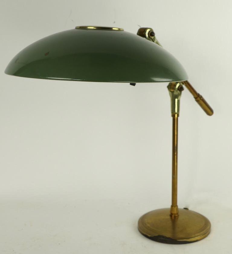 Mid Century Desk Lamp by Thurston for Lightolier For Sale 7