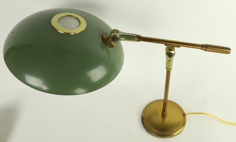 Mid Century Desk Lamp by Thurston for Lightolier For Sale 9