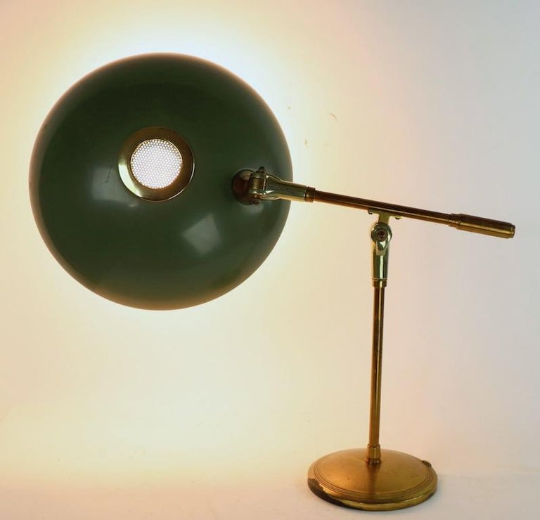 American Mid Century Desk Lamp by Thurston for Lightolier For Sale