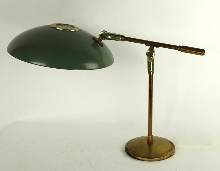 20th Century Mid Century Desk Lamp by Thurston for Lightolier For Sale