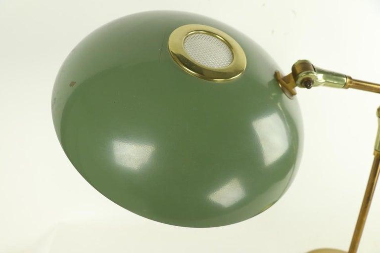 Brass Mid Century Desk Lamp by Thurston for Lightolier For Sale