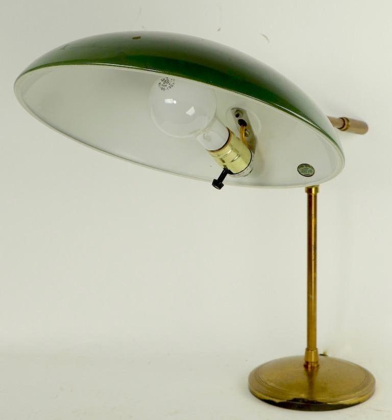 Mid Century Desk Lamp by Thurston for Lightolier For Sale 1