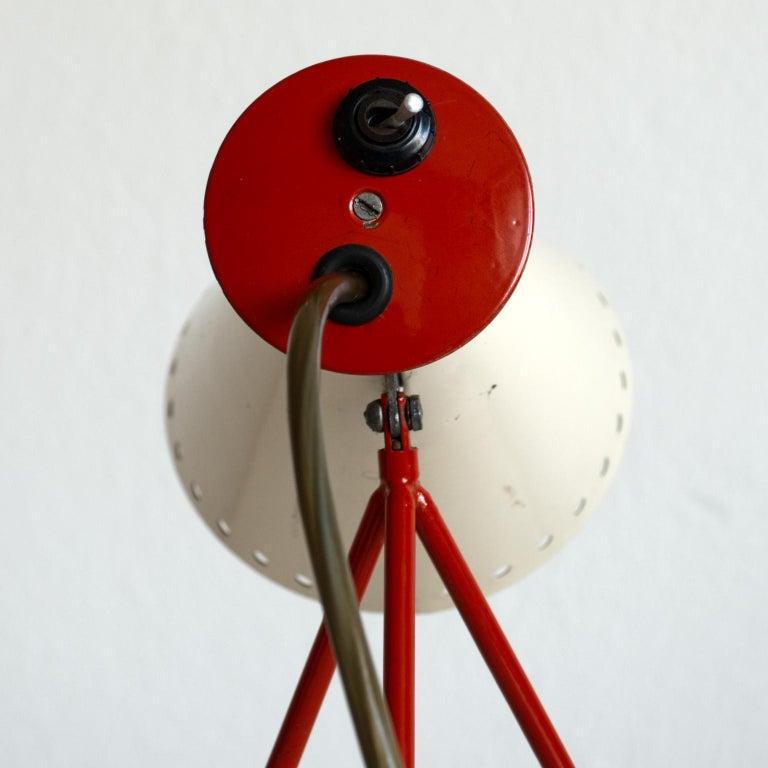 Mid Century Desk Lamp Model 1618 by Josef Hurka for Napako Czechoslovakia 1950s For Sale 2