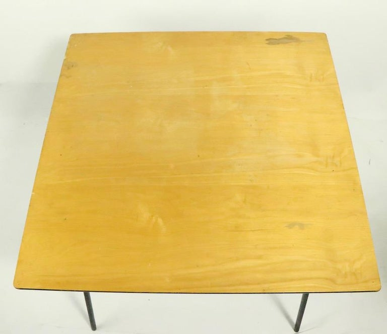 Mid Century Dinette Card Table Set by Cavalier For Sale 1