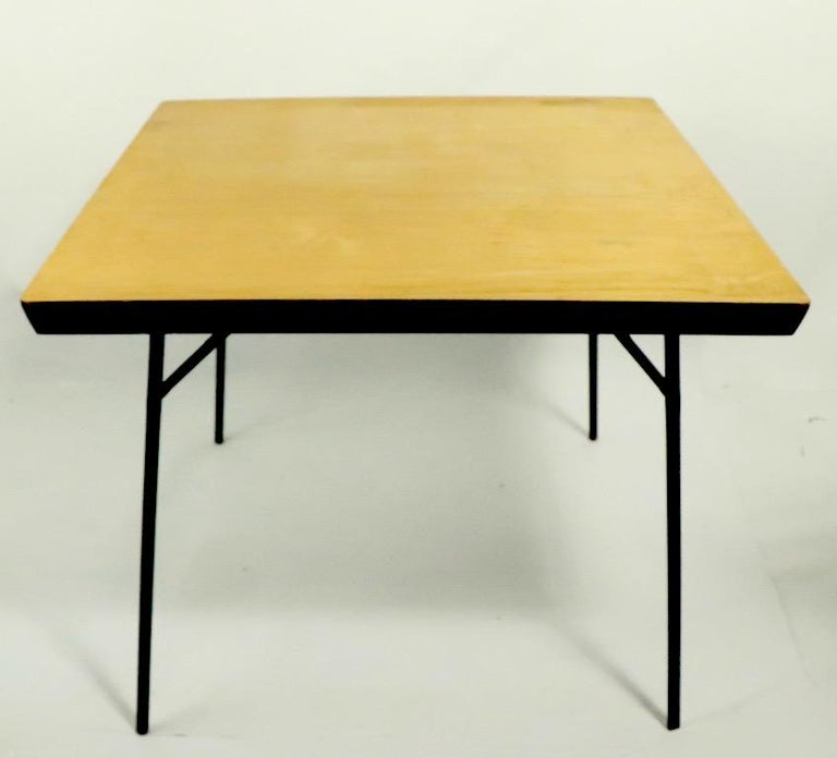 Mid Century Dinette Card Table Set by Cavalier For Sale 2