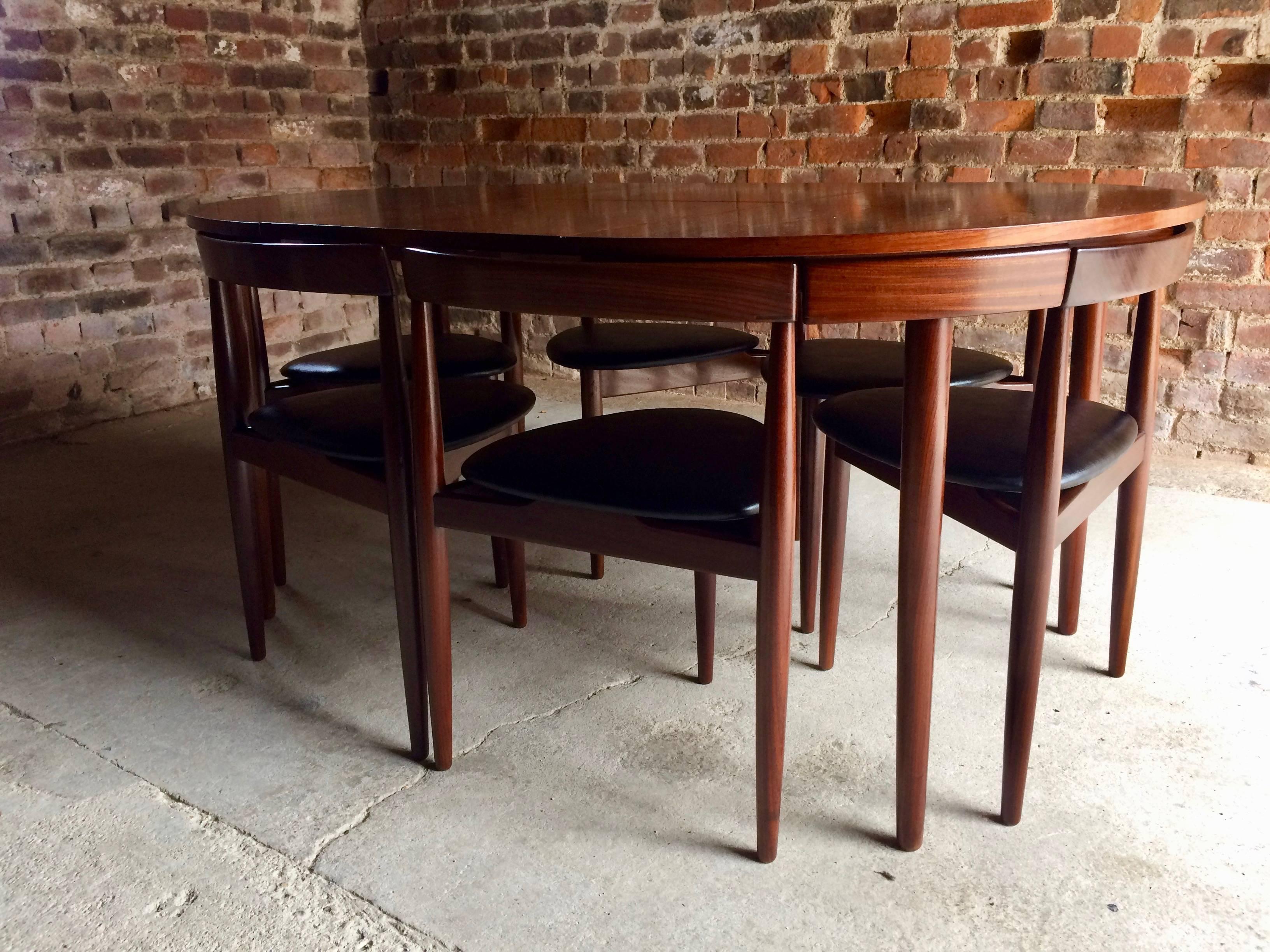 Scandinavian Modern Midcentury Dinette Dining Table Designed Hans Olsen By  Frem Rojl, Denmark, 1960s