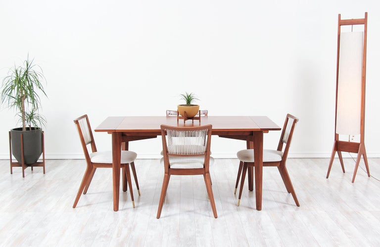 Midcentury Dining Chairs by John Keal for Brown Saltman For Sale 6