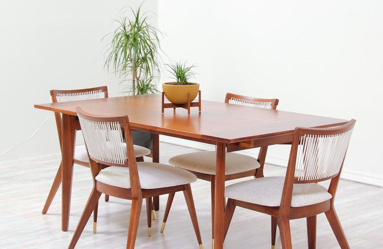 Midcentury Dining Chairs by John Keal for Brown Saltman For Sale 7