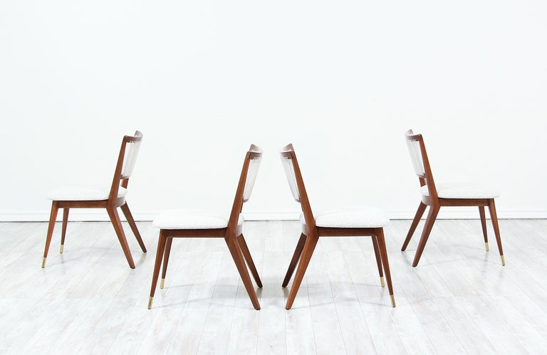 Mid-Century Modern Midcentury Dining Chairs by John Keal for Brown Saltman For Sale