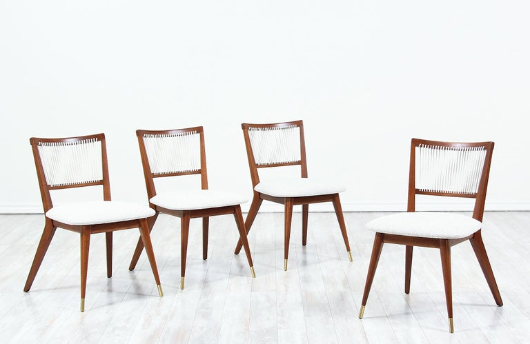 American Midcentury Dining Chairs by John Keal for Brown Saltman For Sale