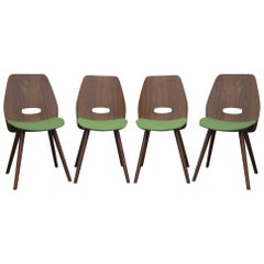 Midcentury Dining Chairs, Designed by Frantisek Jirak, Czechoslovakia